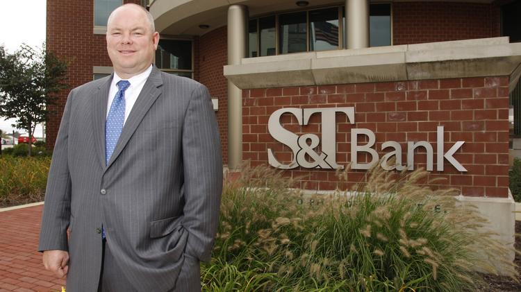 S&T CEO Todd Brice said a State College office would soon follow lender hires there and a branch application has now been filed with the state.