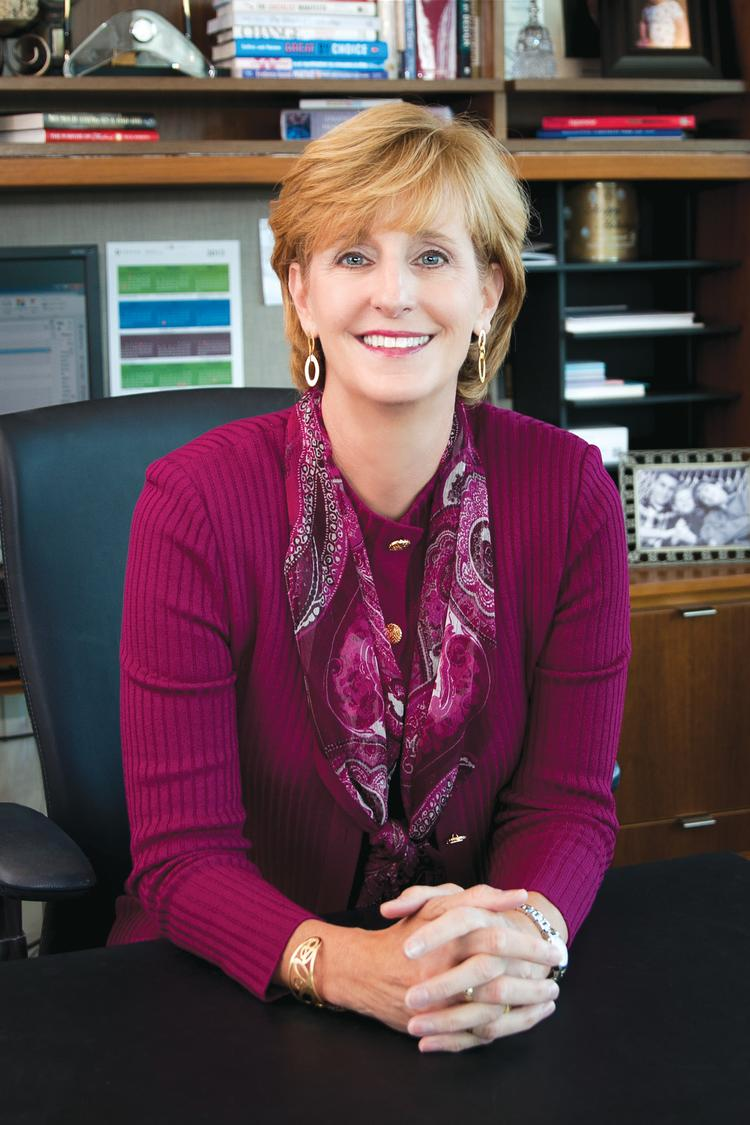 Susan DeVore leads 1,600-employee health-care alliance from Charlotte.