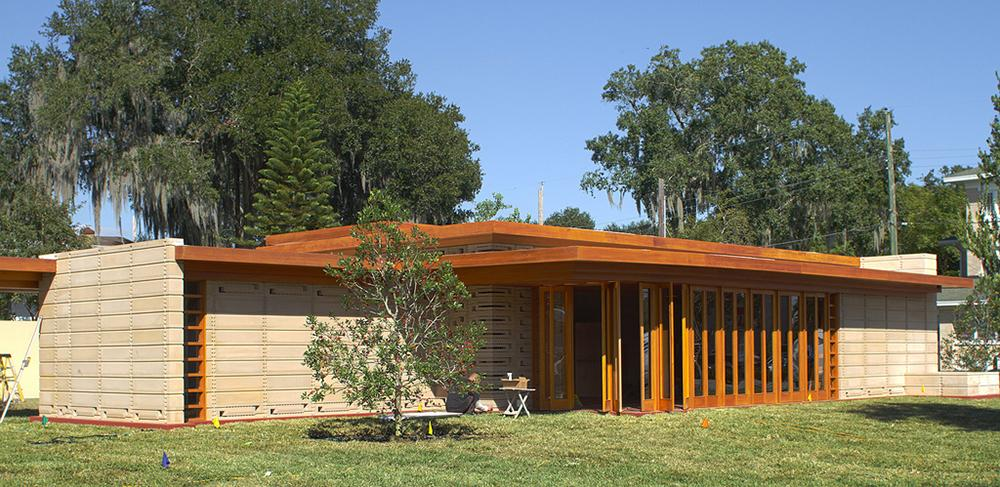 The Frank Lloyd Wright Usonian House At Florida Southern College Was  Originally Designed In 1939 As
