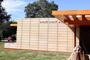 Almost 2,000 textile blocks were used to build the Frank Lloyd Wright Usonian House at Florida Southern College.
