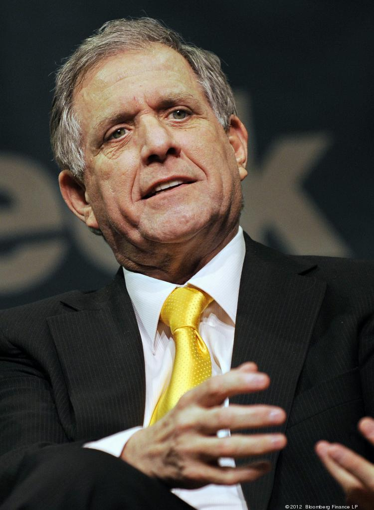 Leslie Moonves, president and chief executive officer of CBS Corp.
