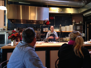 Chef Jehangir Mehta, a renowned chef and partner in a glute-free chef's tour that came to Portland this week.
