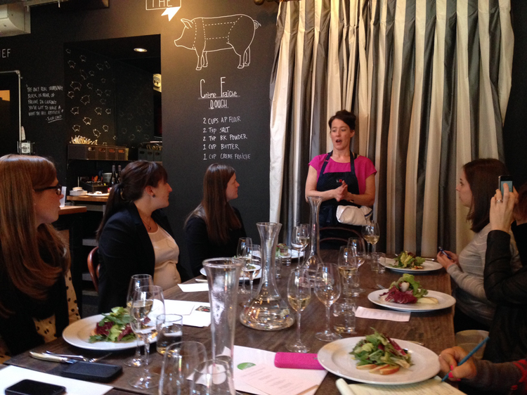 Naomi Pomeroy talks about serving gluten-free dishes at Beast