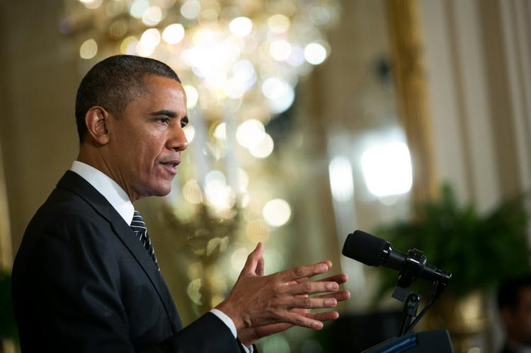President Barack Obama is not expected to take questions from the media when he appears at Faneuil Hall in Boston today.