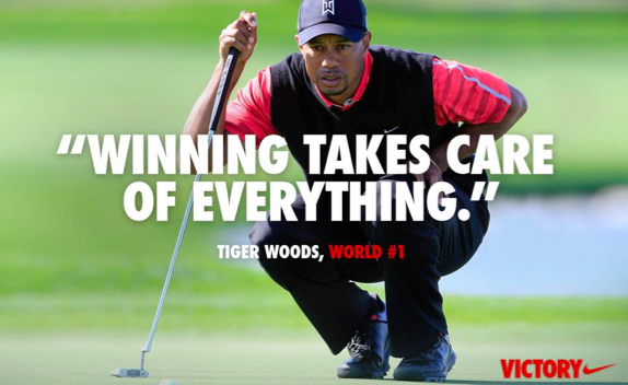 Nike's new ad featuring Tiger Woods is generating plenty of buzz.