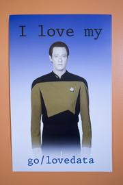"""""""Star Trek"""" fans? The mutual love of data leads one to believe so."""