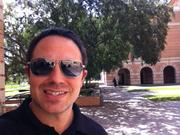 Craig Ceccanti  My selfie is in front of the Jones Graduate School of Business at Rice University.  Graduating from the Jones School in 2008 and returning as a lecturer in 2012 has been a tremendous experience.  Being on campus returns so many incredible memories and always provides a spark of motivation and creativity.  The support of the school, fellow alumni and staff has been major fuel for my growth and I look for opportunities to give back any chance I get.