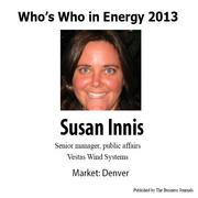 Who's Who in Energy 2013: Susan Innis (Denver)