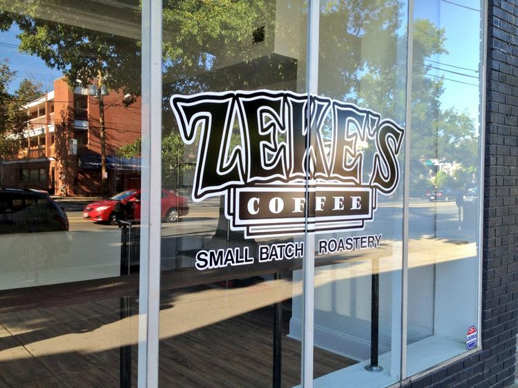 Zeke's has sold its coffee at farmers markets around D.C. for the past few years and is just now opening its first brick-and-mortar location here.
