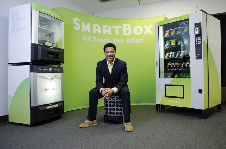 Brandon Stallings is the president of SmartBox.
