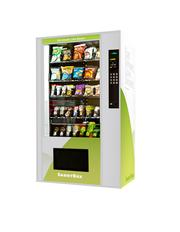 SmartBox machines include software that provides nutritional information to consumers before they make a purchase.