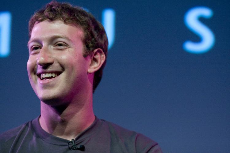Zuck has a good reason to smile: Facebook posted strong third-quarter earnings, exceeding analyst expectations and reporting strong mobile ad revenue.