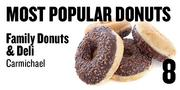 No. 8. Family Donuts & Deli, 9045 Fair Oaks Blvd., Carmichael, based on Yelp and Urbanspoon ratings.