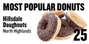 No. 25. Hillsdale Doughnuts, 5745 Hillsdale Blvd., North Highlands, based on Yelp and Urbanspoon ratings.