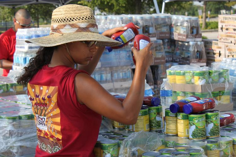 San Antonio Food Bank officials' Growing Healthy Children partnership with the Goldsbury Foundation is being highlighted in a report to fight hunger.