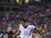 Forward Abby Wambach, a U.S. Women's National Team regular, plays in an international friendly against New Zealand in Columbus, Ohio.