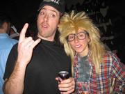 Wayne and Garth are a classic costume pair across the country. The most difficult element might actually be getting a Wayne's World cap.