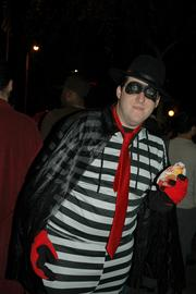 When dressing as a corporate mascot, there's a fine line between clever and looking like an ad. Oak Brook-based McDonald's (NYSE: MCD) best-known mascot is Ronald McDonald -- stay away from him, unless you're doing something subversive. The Hamburglar, though, is already kind of subversive, given that he's a straight-up criminal.