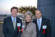 From left, honorees Neil Kerwin, president of American University; Linda Rabbitt, CEO of Rand Construction; and Mark Ein, CEO of Venturehouse Group LLC.