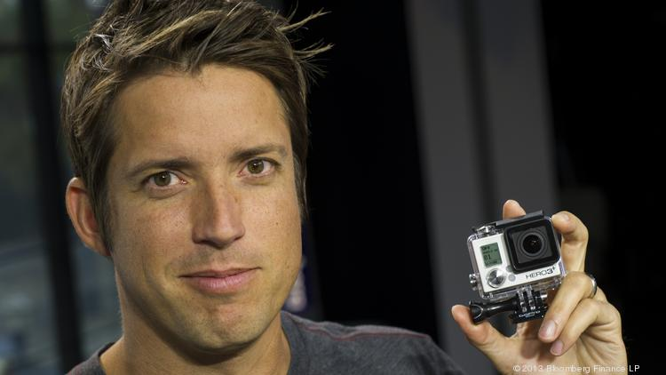 Nick Woodman, founder and CEO of GoPro, is set to take his sports camera company public on Thursday.