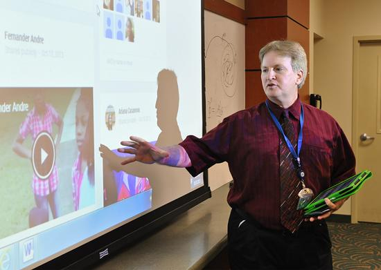 Dr. Rashid Moore uses Google+ Hangouts On Air to record and post interactions on YouTube.