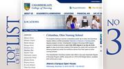 Chamberlain College of Nursing Students enrolled: 661