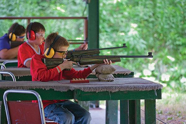 Riflery is among the merit badges boys can earn at summer camp with the Boy Scouts of America - Greater Niagara Frontier Council, a $2.5 million nonprofit organization.