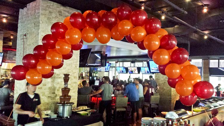 Virginia Tech's D.C. alumni, which used to watch games at Bailey's Pub and The Greene Turtle, made centrally located A-Town in Ballston its official bar this year.