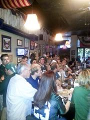 """Capitol Lounge manager Larissa Hill said a Michigan State alum bartender spurred its relationship with the D.C. Spartans, making the D.C. bar the """"Lion's Den."""""""