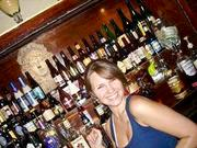 """Capitol Lounge manager Larissa Hill, shown, said a Michigan State alum bartender spurred its relationship with the D.C. Spartans, making the D.C. bar the """"Lion's Den."""""""