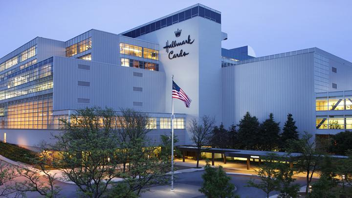 The Hallmark Cards headquarters is at Crown Center.