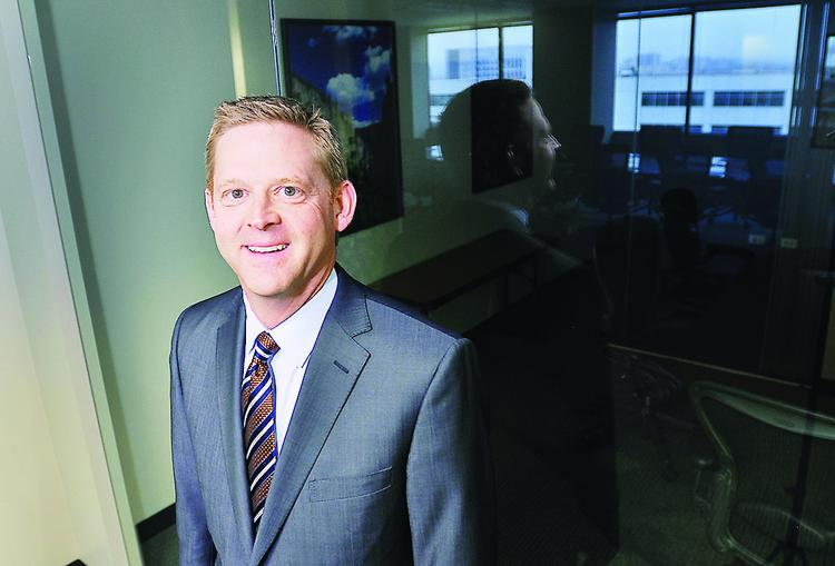 """Darren Lemkau is Commerce Bank's new Colorado president and CEO. """"Where the rubber hits the road, banks have to be loyal and honest with their customers."""""""