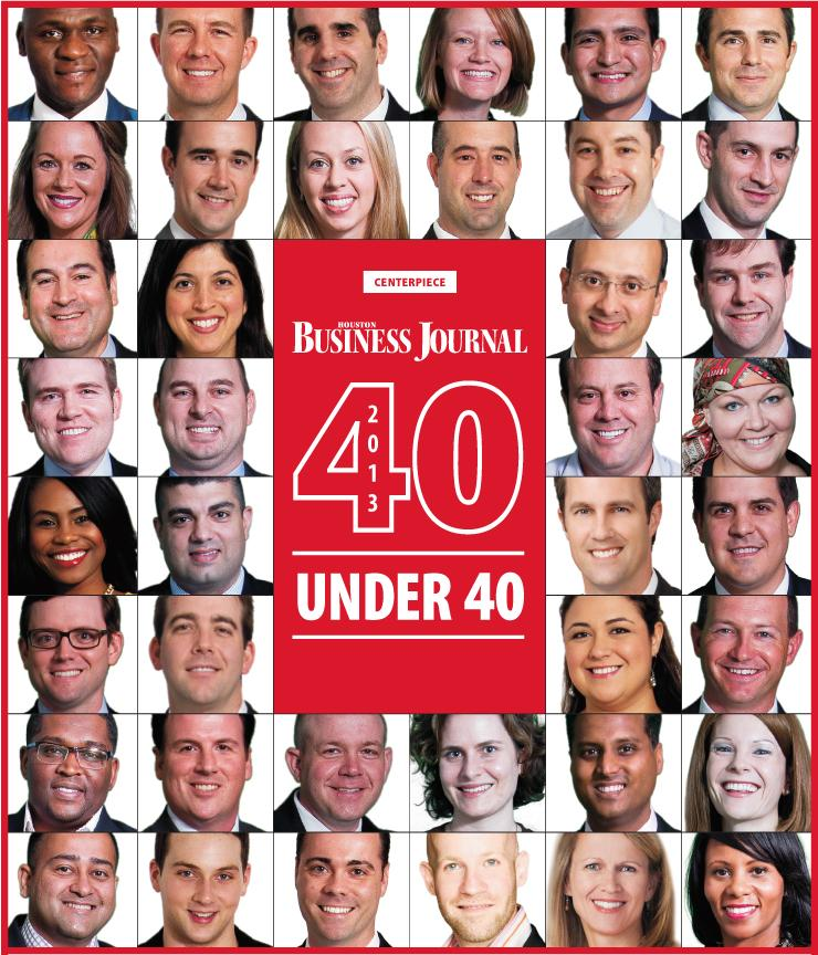 Click through the slideshow to see what represents how Houston has played a role in the success of the 40 Under 40 Class of 2013.  40 Under 40 photos by Monica Kressman Photography