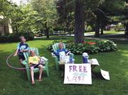 The Ianni lemonade stand.