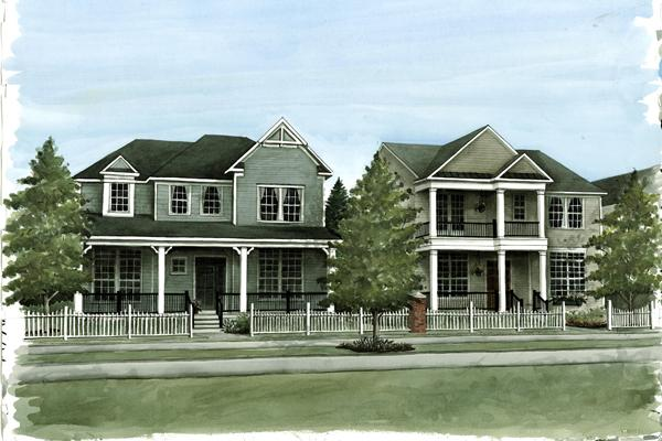 The houses in the development will range from 2,200 to 3,800 square feet, starting in the mid-$300,000s.