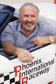 Buddy Jobe, former owner of Phoenix International Raceway, sees a bright future for the Avondale racetrack.
