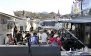 Race fans from throughout the West flock to PIR in the spring and fall, creating a small city of race fans in recreational vehicles.