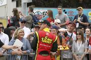 Nascar is known for sponsors, from fans wearing the logo-adorned gear of their favorite drivers to Carl Edwards, whose Subway-sponsored car won the Subway Fresh Fit 400 at Phoenix International Raceway in March.