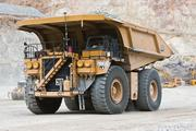 A truck collects materials at Freeport-McMoRan's mine in Bagdad, northwest of Phoenix.