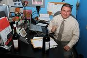 With a name like Joe Gallo (FKQ senior copywriter) all you need is some Gallo wine and you have a costume.