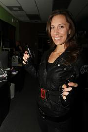 I've never had a black widow. But I'm sure it's a mean cocktail. That's not to say Tamara Alboschy, art director was mean. She was very nice.