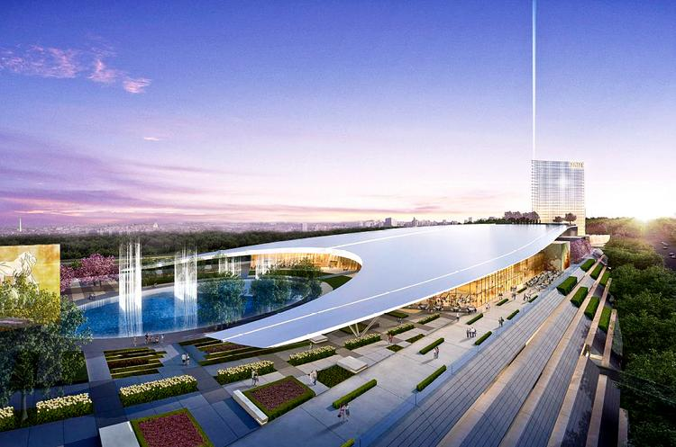 The mayor of Forest Heights opposes MGM's proposal for a National Harbor casino, above. She received $15,000 in consulting fees from a competitor a year ago.