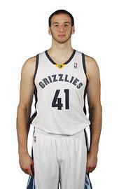 Kostas Koufos Position: Center Age: 24 Hometown: Canton, Ohio College: Ohio State Career highlights: FIBA Europe Under-18 Championship MVP (2007), National Invitation Tournament MVP (2008) Pregame ritual: 'Listen to music, mostly late '90s hip-hop' Favorite ride: Corvette Stingray Role with the Grizzlies this year: 'Playing behind two All-Stars is a challenge. Whatever coach needs to be sure the front court is secure.' To stay focused on the road: 'Just try to keep an even keel and study film.' Lives in the offseason: In transition