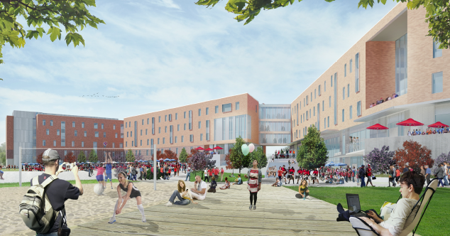 University Of Central Missouri >> University Of Central Missouri Plans 42 Million Mixed Use Project