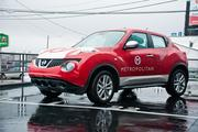 A Nissan Juke that the bank uses to complete transactions for clients.