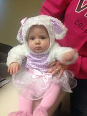 The newest addition to the Kansas City Business Journal family visits the office in her Halloween debut.