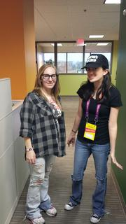 Employees of Overland Park-based Validity Screening Solutions dress up as Wayne and Garth from the movie and 'Saturday Night Live' sketch 'Wayne's World.'