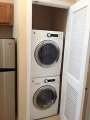 Each apartment comes with a washer and dryer.