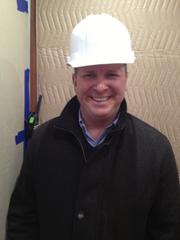 Mike Longfellow, senior vice president and project manager.