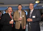 James Connolly, CEO of Ellis Medicine; with Andrew Maurer and Jim Landau, both of SMRT Architects and Engineers